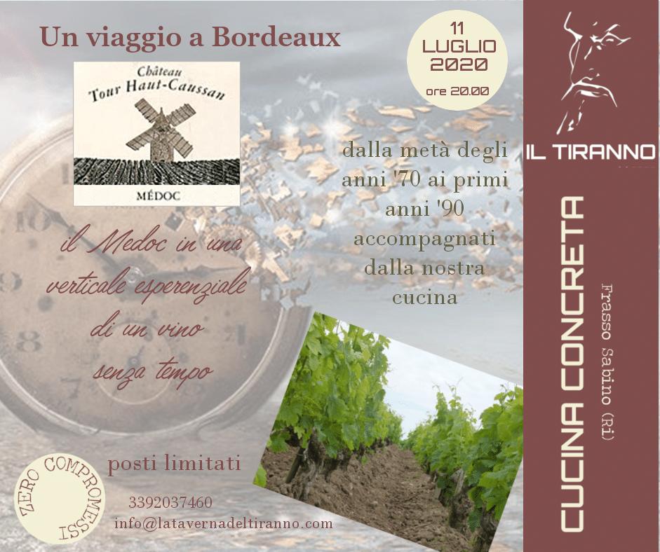 Un viaggio a Bordeaux